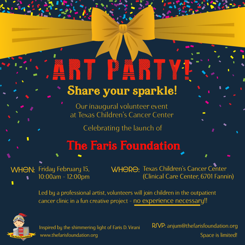 Share Your Sparkle Volunteer Event Feb 15