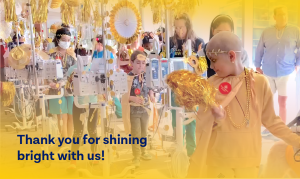 Thank you for shining bright with us!